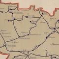 645. Úthálózati térkép 1944-ből