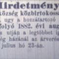 586. Újabb bulvárhírek 1882-ből