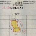 732. Molnári kataszteri térképe 1857-ből
