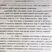 805. Evangélikus egyházlátogatás 1919.