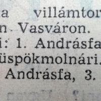 384. Rövidhírek 1960 áprilisából