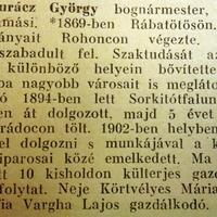 601. Életrajzok 1943-ból