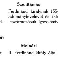823. Vas vármegye 1726/27. évi nemességvizsgálata