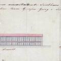 699. Az átalakítandó molnári Festetics-üvegház tervrajza