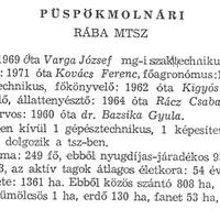 844. A községi termelőszövetkezet 1971-ben