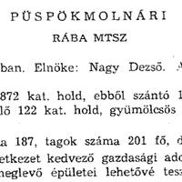 782. A községi termelőszövetkezet 1963-ban