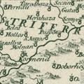 657. Egy 1709-es térkép községünk környékéről