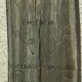 133. Prinz Gyula fa emlékoszlopa