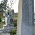 703. Jelképek községünk temetőinek sírkövein