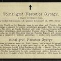 617. Festetics György nekrológja