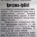 562. Hírek 1909 szeptemberéből