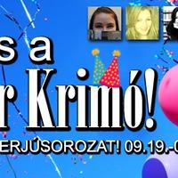 ,,A Kultúr Krimó már nem csak egy blog, hanem egy szervezet