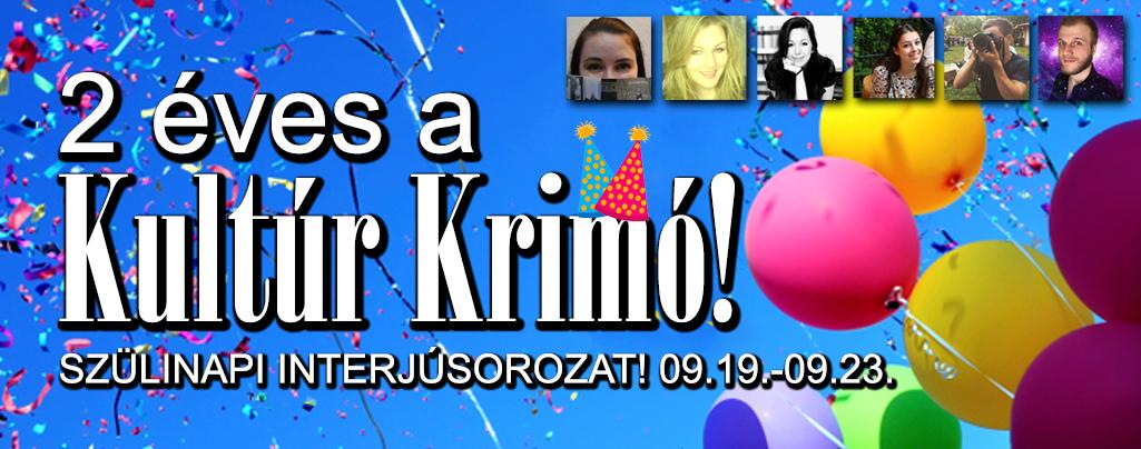 """,,A Kultúr Krimó már nem csak egy blog, hanem egy szervezet"""" - Interjú Mészáros Zoltánnal"""