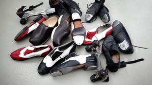 Görkorik és vasalt orrú cipők