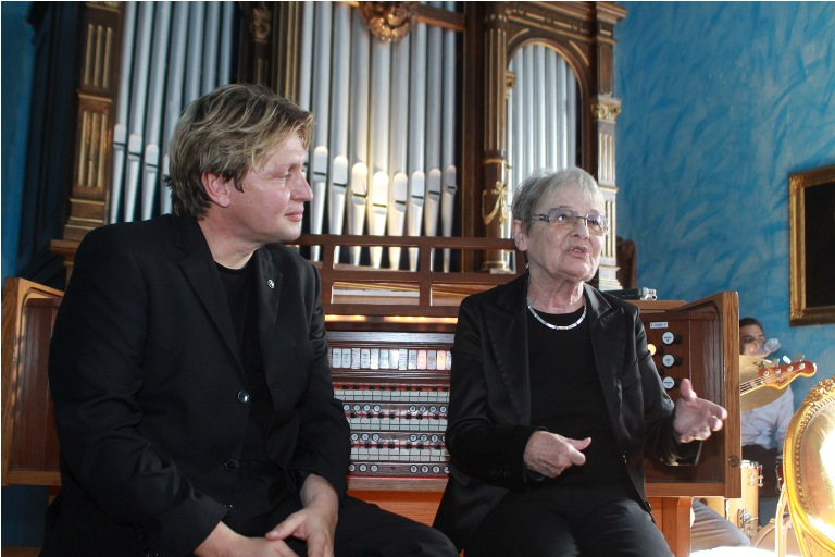 Varnus Xaver és Törőcsik Mari (fotó: veol.hu)
