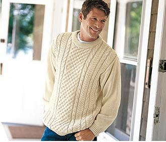 Free Mens Cable Knit Sweater Patterns : CABLE KNIT SWEATER MEN PATTERN DESIGNS & PATTERNS