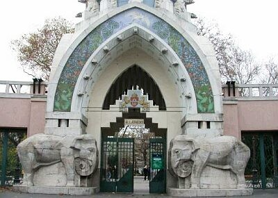 The Zoo, established and opened in 1866, was enlarged in 1912, when many...