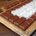 Csokis keksz billentyűzet