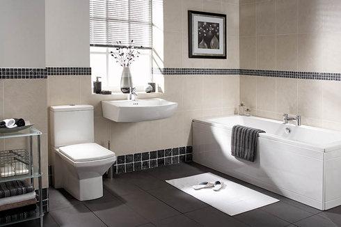 Fürdőszoba belseje