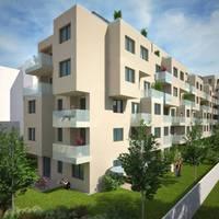 Kertkapcsolatos modern lakások a Béke tér szomszédjában