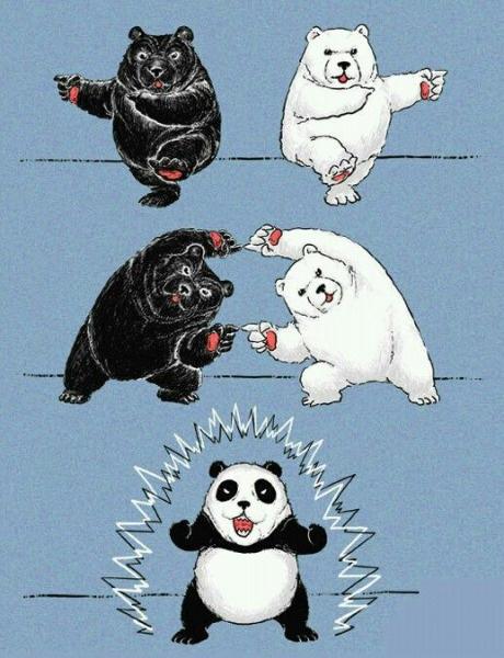 Így születnek a pandák :D