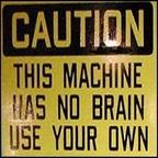 Fura hangokat ad a gép