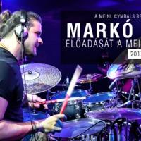 Markó Ádám dob előadása a Budapest Music Expón