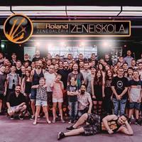Roland Zenegaléria Zeneiskola Évzáró Fesztivál június 10-én a Barba Negrában