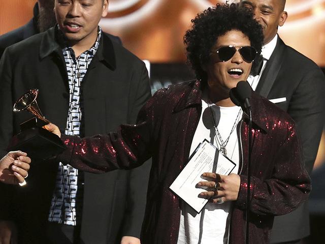 Bruno Mars széjjelnyerte magát a Grammyn