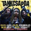 Tel-Aviv és Oslo - Két helyszín, ahol a Tankcsapda hamarosan koncertezni fog