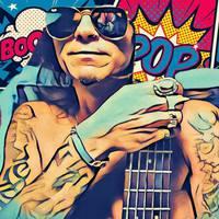 Ilyen lesz egy rocker kezében a freejazz bass-fusion zene - PG King-klippremier