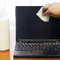 Hogyan tisztítsuk a laptop képernyőjét?