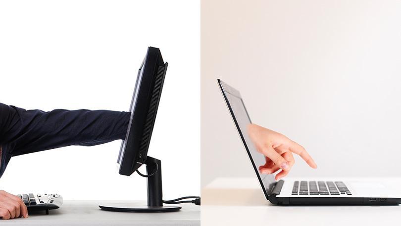 laptop taviranyitas