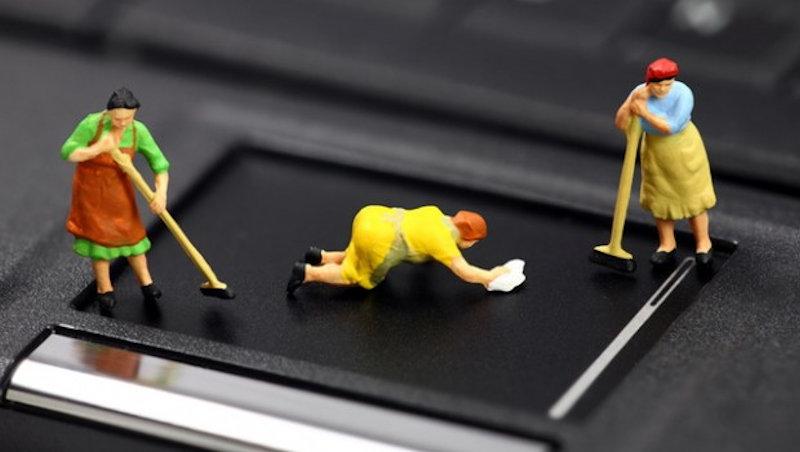 laptop tisztitas