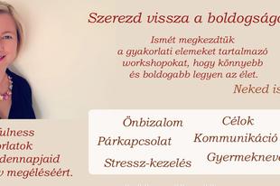 Szerezd vissza a boldogságodat! - mini tréning Budapesten