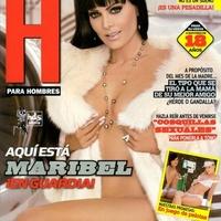 Maribel Guardia repülőre száll a H magazin kedvéért