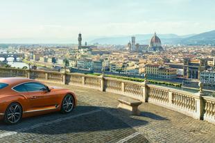 Itt az új Bentley Continental GT