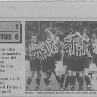 1997. április 6.: Milan-Juventus 1-6 (helyszíni tudósítás 13 évvel később)