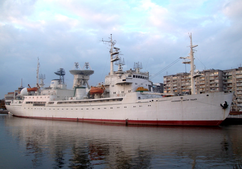 Cosmonavt Victor Patsaev (1979-2006) <br />Jelenleg múzeumhajó