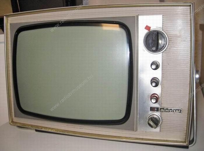1967-ben jelent meg a legelső Minivizor elektroncsöves változatban.