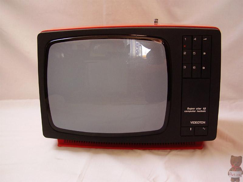 1978-ban jelentek meg a modulos tv család hordozható tagjai. A képen a TC 1613 Super Star 12 látható.