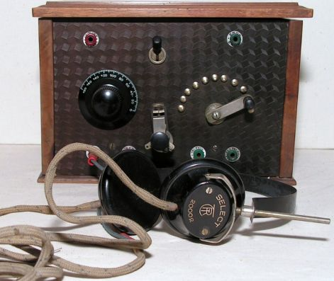 Champion detektoros rádió