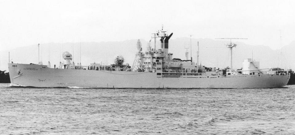 T-AGM-7  (1961-1974 ?) USNS Huntsville
