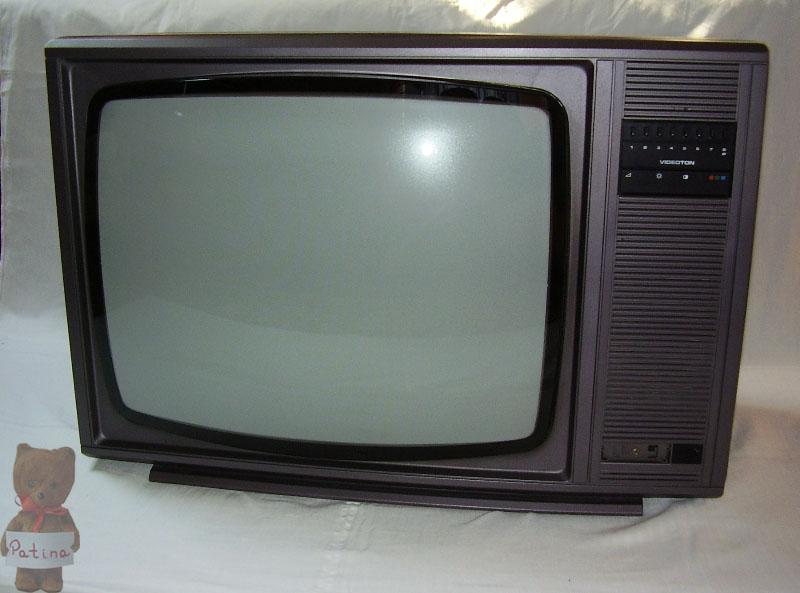 Videoton TS 4317 SP 1989. A készülék a Videoton gyár utolsó saját termékei közé tartozik.