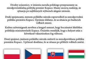 Így (is) támogatják a lengyelek Magyarországot menekültkérdésben