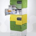 Elemes hűtőszekrény - szobatársakkal ideális