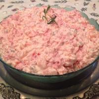 Rózsaszín francia saláta