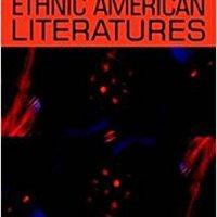 _UPDATED_ Beginning Ethnic American Literatures (Beginnings). studies regular Recent entry selected Group School