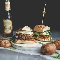 Libazsúr burger