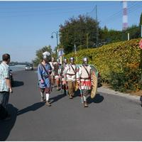 Dunakeszi: late Roman military presentation and show (pictures, videos)